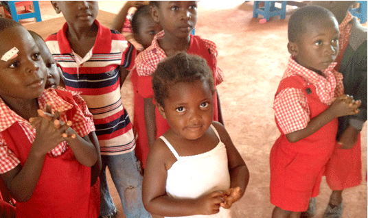 The Save The Children nursery school is filled with hope and color…and some seriously cute children.